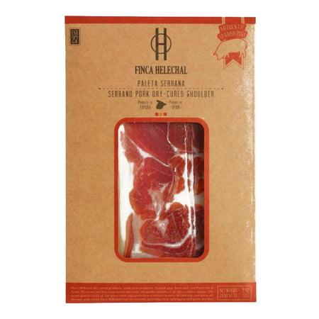 Finca Helechal Iberico Pork Dry Cured Ham .3 oz each (6 Items Per Order, not per case) Jamon Iberico Ham