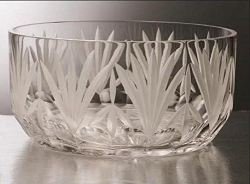 Gac Mouth Blown Large Glass Crystal Serving Bowl Perfect Fruit Bowl Round Salad Bowl Walmart Com Walmart Com
