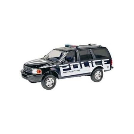 Ford Police Expedition 1:25 Scale Snap Together Model Kit ()
