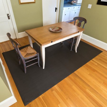 Mats inc woven vinyl all weather dark bronze indoor for Woven vinyl outdoor rugs