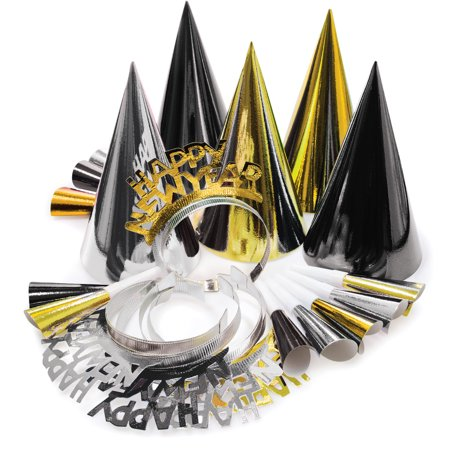 Gold And Silver New Years Eve Party Kit