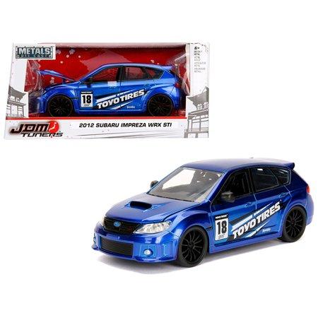2012 Subaru Impreza WRX STI Blue