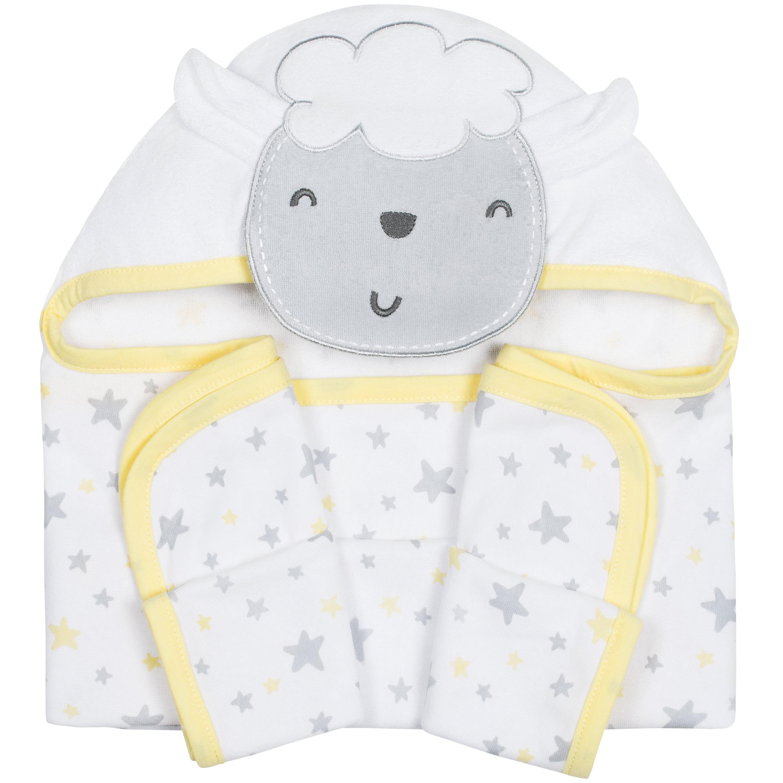 Gerber Baby Girl Terry Hooded Bath Towel, 3D Princess by Gerber Childrenswear LLC