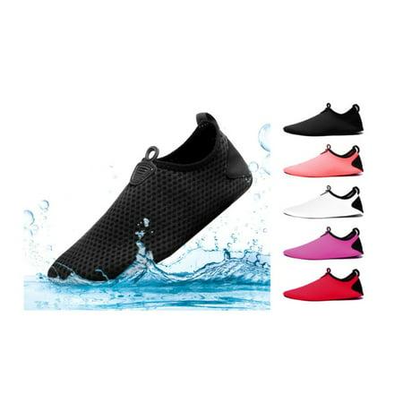 ff0a2ee6065a simple dulxe - Water Shoes for Women Men Quick Dry Aqua Socks Swim Barefoot  Beach - Walmart.com