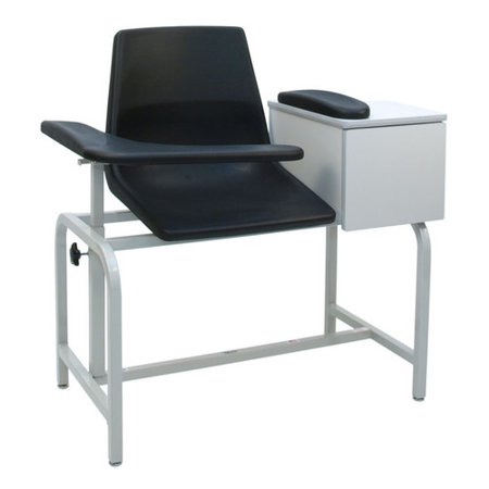 Economical Stacking Chairs - Winco Manufacturing Economical Phlebotomy Chair with Storage Drawer
