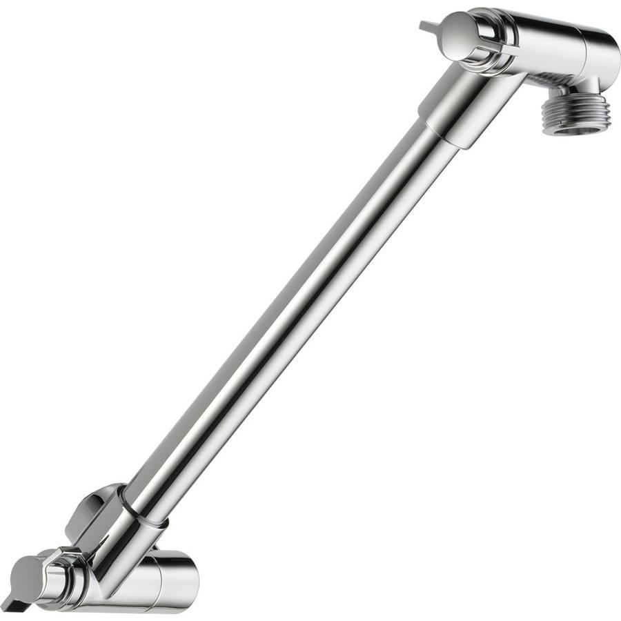 peerless chrome adjustable shower arm