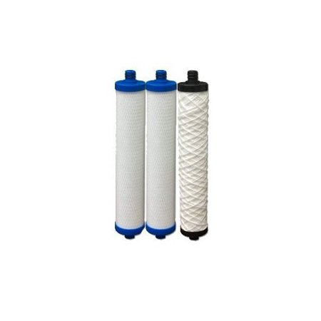 4000 Reverse Osmosis - Hydrotech 41400008/41400009 Replacement Reverse Osmosis Water Filter Cartridge Set