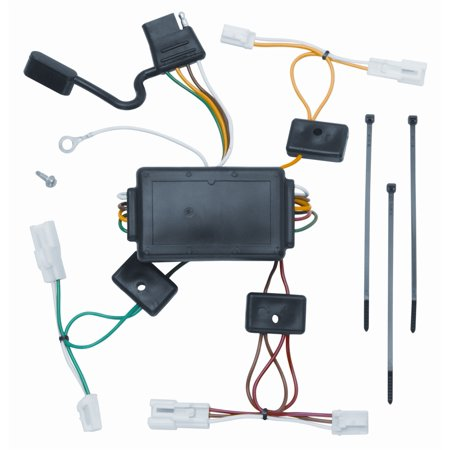 vehicle to trailer wiring harness connector for 03-08 pontiac vibe plug  play image 1