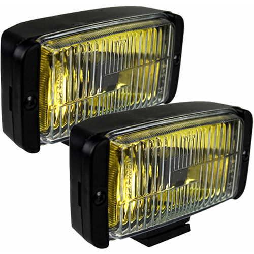 Blazer DF1075KB OE Fog Light Kit Amber Light with Black Housing, Pack of 2 Lights
