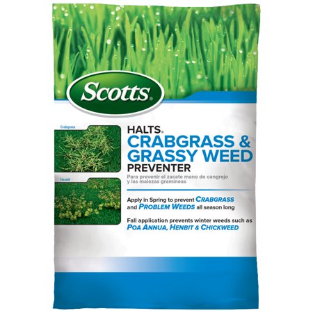 Scotts Halts Crabgrass & Grassy Weed Preventer (Mini