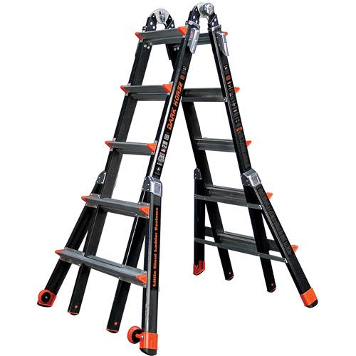 Little Giant Ladders Dark Horse Type IA Model 22 Fiberglass Multi-Use Ladder