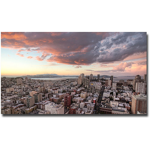 "Trademark Fine Art ""SF High Rise"" Canvas Wall Art by Ariane Moshayedi"