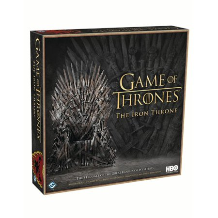 HBO Game of Thrones: The Iron Throne Strategy Board Game (A Game Of Thrones Board Game)
