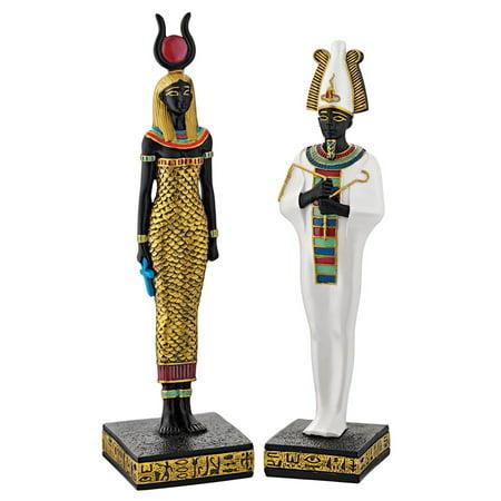 Design Toscano Osiris and Hathor Deities of Ancient Egypt
