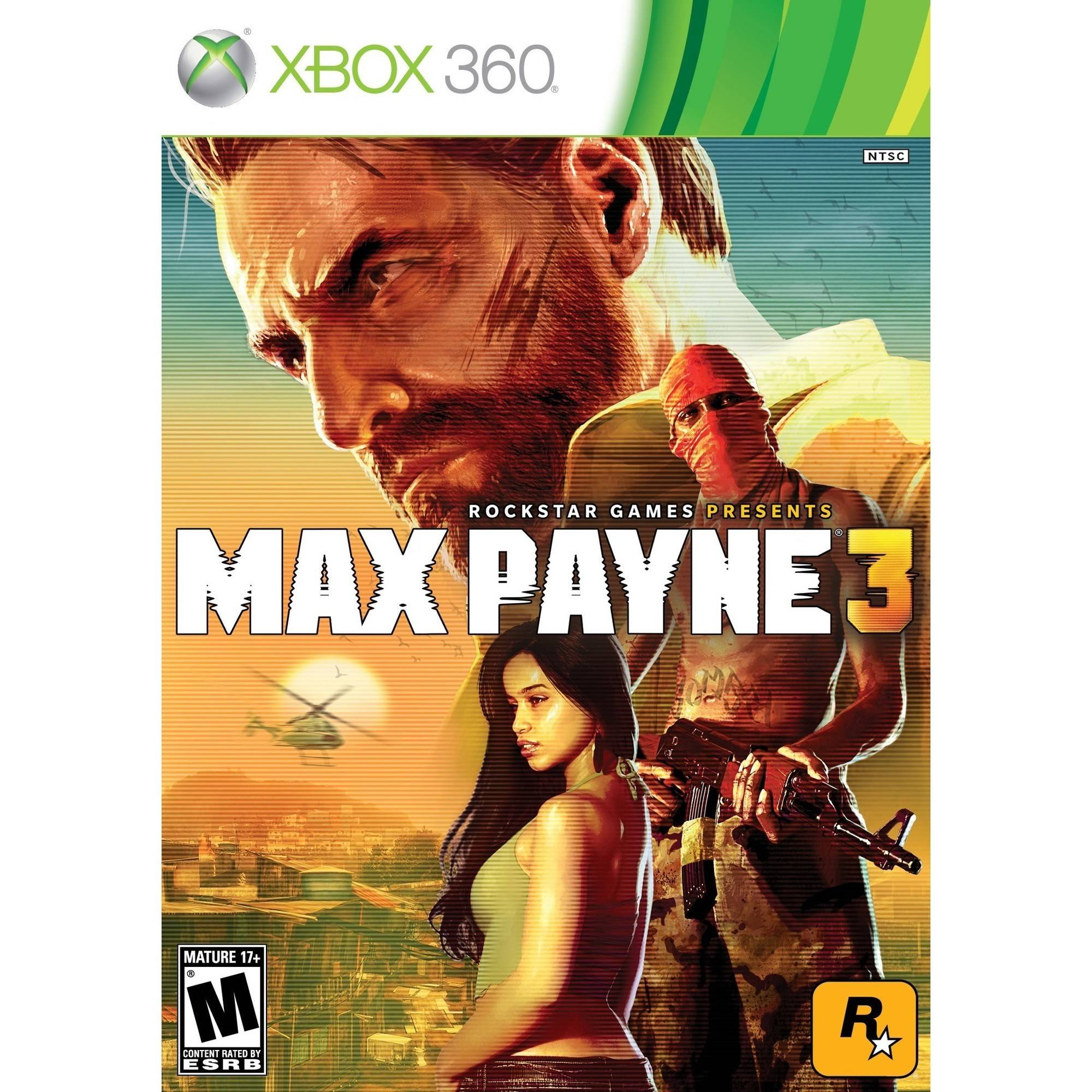 Max Payne 3 (Xbox 360) - Pre-Owned