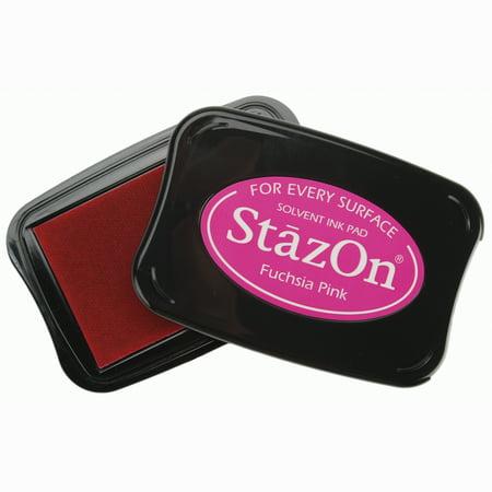 - StazOn Solvent Ink Pad-Fuchsia Pink
