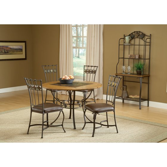 Hillsdale Furniture Bennington 5pc Dining Room Set In: Hillsdale Furniture Lakeview 5-Piece Round Dining Set With
