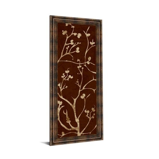 Classy Art 1276 18 X 42 In Branching Out I By Diane Stimson Framed Print Wall Art Walmart Com Walmart Com