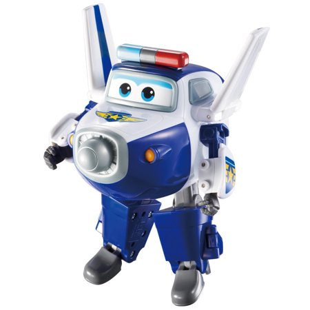 Super Wings - Transforming Paul Toy Figure | Plane | Bot | 5
