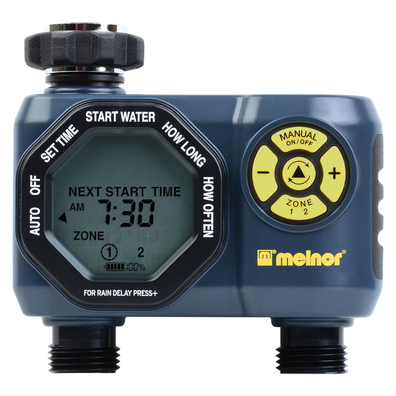 Melnor 2-Zone Digital Water Timer by Melnor