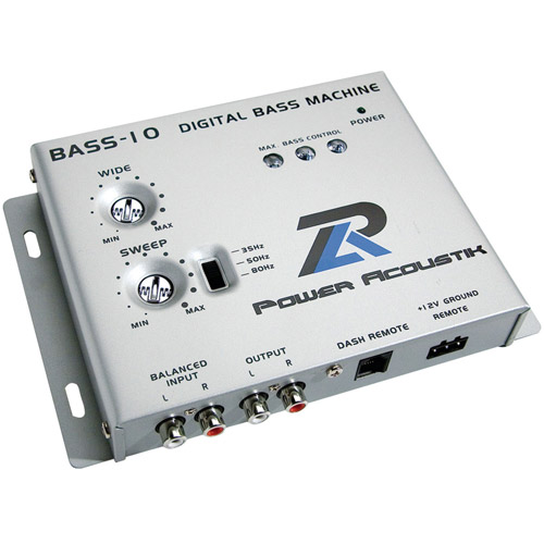 Power Acoustik Bass-10 Digital Bass Machine