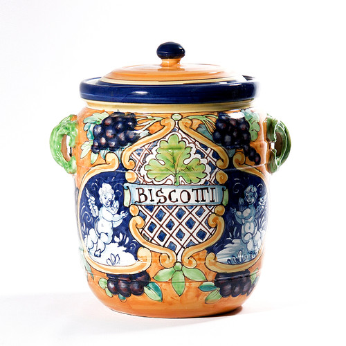 Intrada Italy Large Grapes Accent Cookie jar