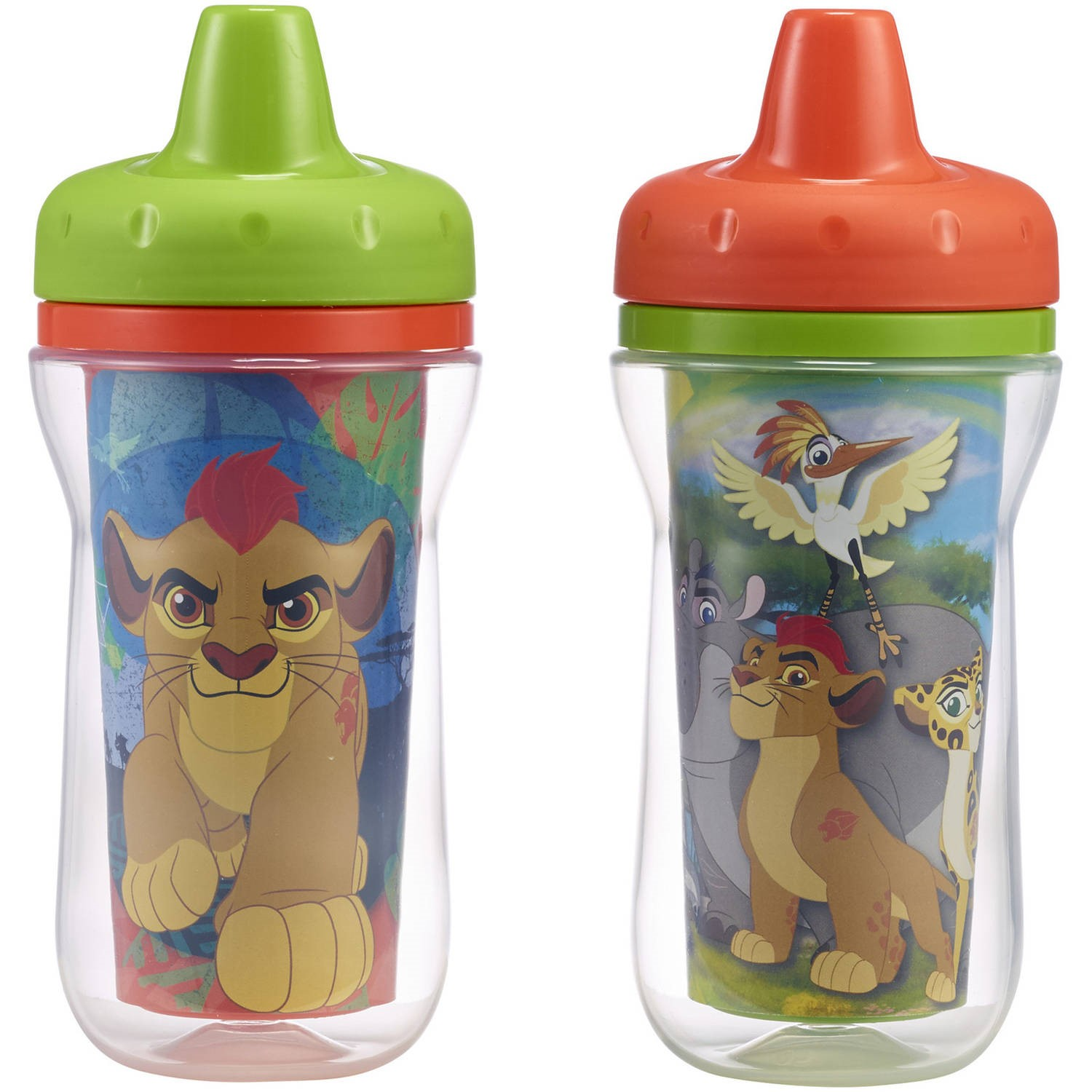 The First Years Disney Insulated Hard Spout Sippy Cup - The Lion Guard, 2 pack