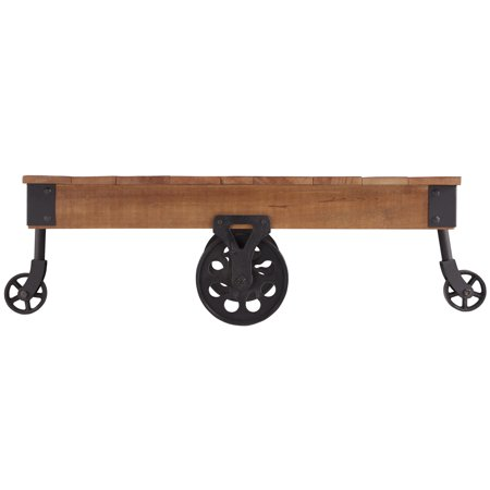 Cocktail Wheel - FACTORY Cocktail Table With Functional Wheels