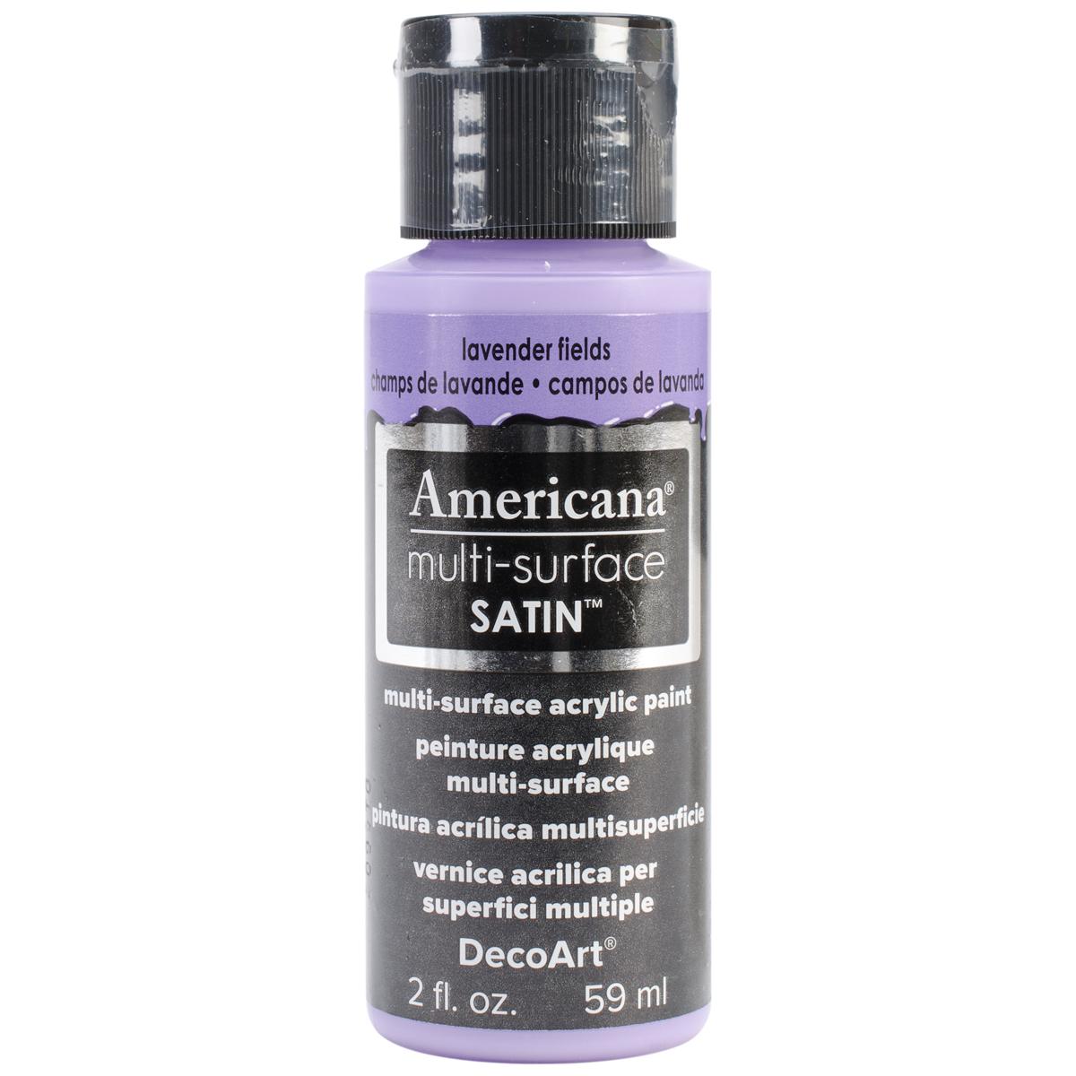 Americana Multi-Surface Satin Acrylic Paint 2oz-Lavender Fields