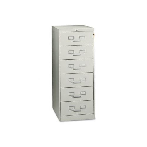 Tennsco Corp. Tennsco Six-Drawer Multimedia Filling Cabinet