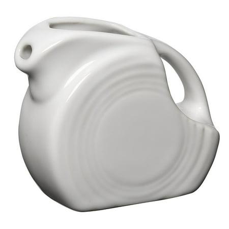 Fiesta 5-Ounce Mini Disk Pitcher, White