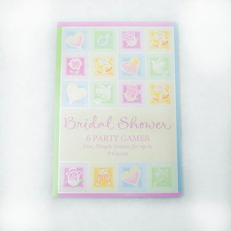 Wedding Shower Game Book (Wedding Shower Book)
