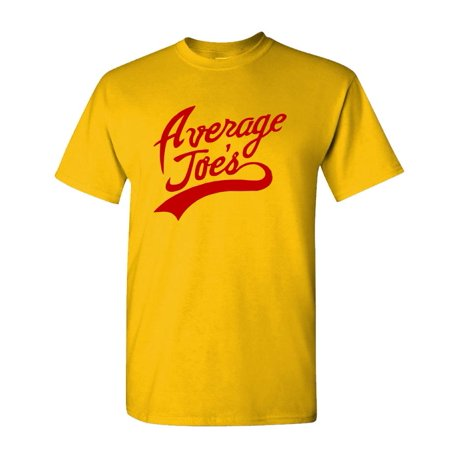 AVERAGE JOES - Funny Halloween Dodgeball - Mens Cotton T-Shirt, Gold](Clever Halloween Shirts)