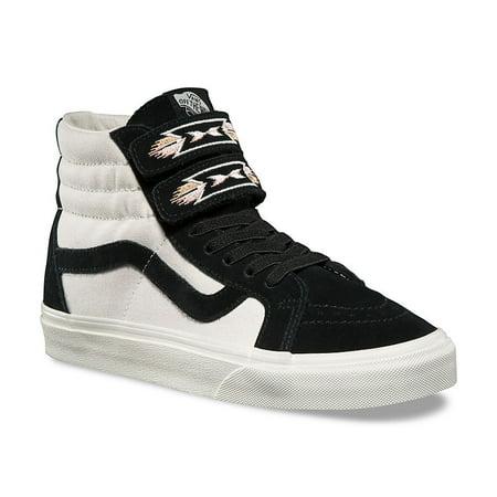 Vans Sk8 Hi Reissue Native Embroidery Black Women's Skate Shoes Size 7