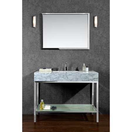 Brayden studio seddon 48 39 39 single bathroom vanity set with for 48 inch mirrored bathroom vanity