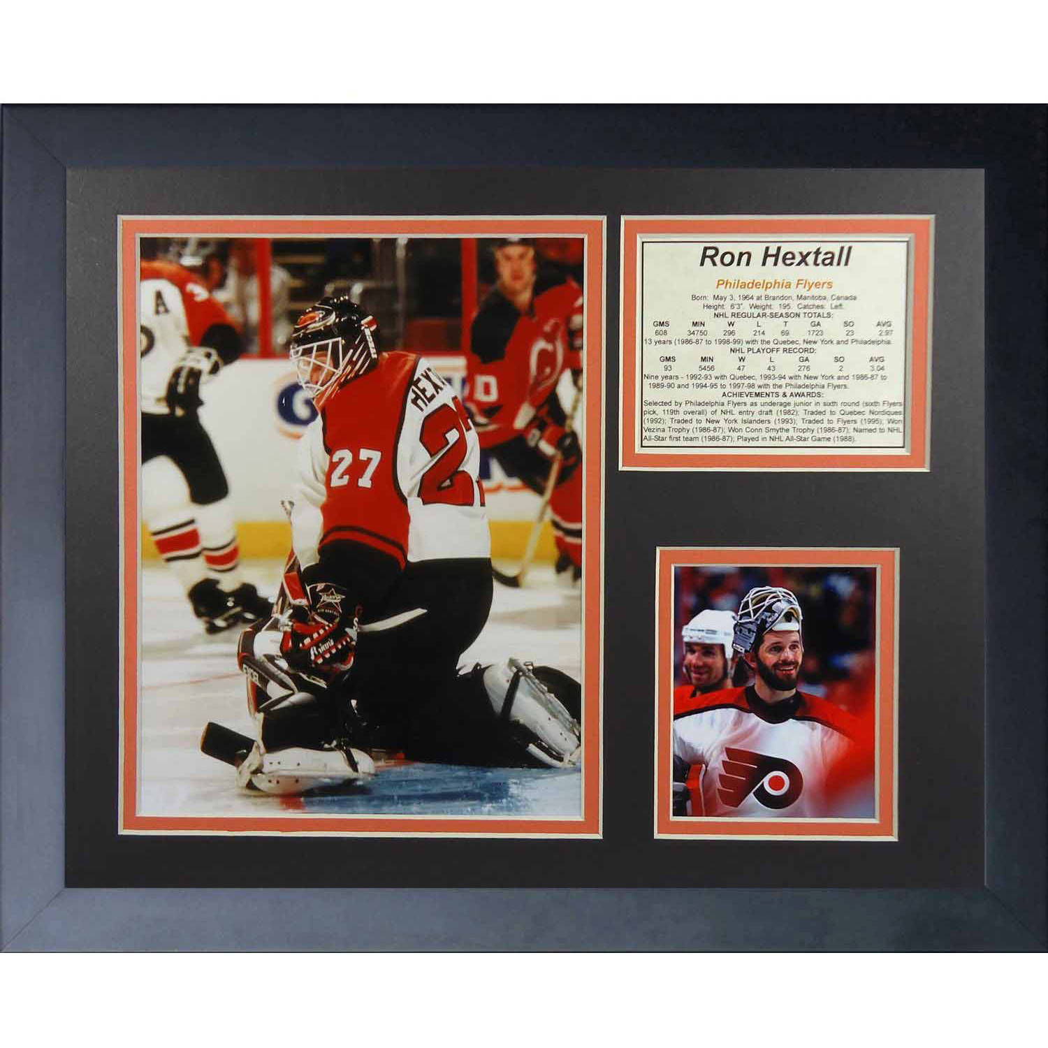 "Legends Never Die Ron Hextall Philadelphia Flyers Collage Photo Frame, 11"" x 14"""