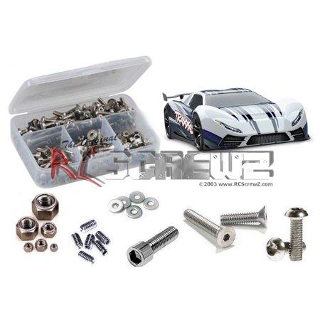 RC Screwz Stainless Steel Screw Kit for Traxxas XO-1 TSM Ed. #tra075