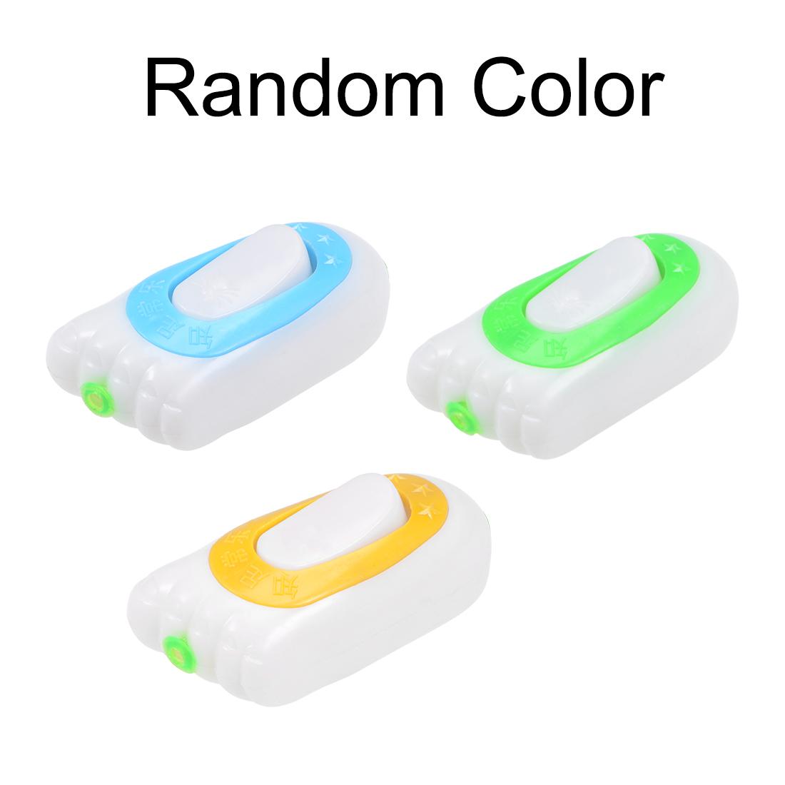 Inline Cord Switch Lamp Light On-Off Rocker Switch AC 250V 16A Random Color 2pcs - image 2 de 4