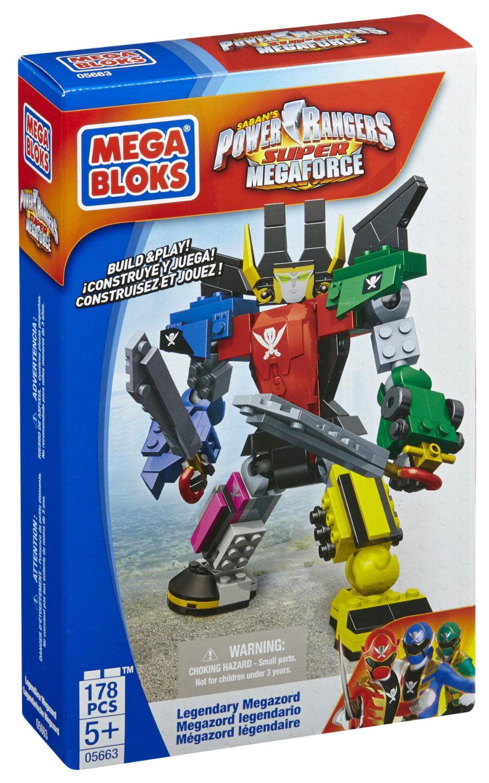 Mega Bloks Power Rangers Legendary Megazord by