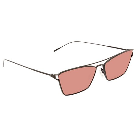 Oliver Peoples Evey Damson Rectangular Ladies Sunglasses OV1244S 506275 (S Oliver Sunglasses)