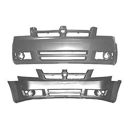 NEW FRONT BUMPER COVER PRIMED FITS 2008-2010 DODGE GRAND CARAVAN 1AG01TZZAB