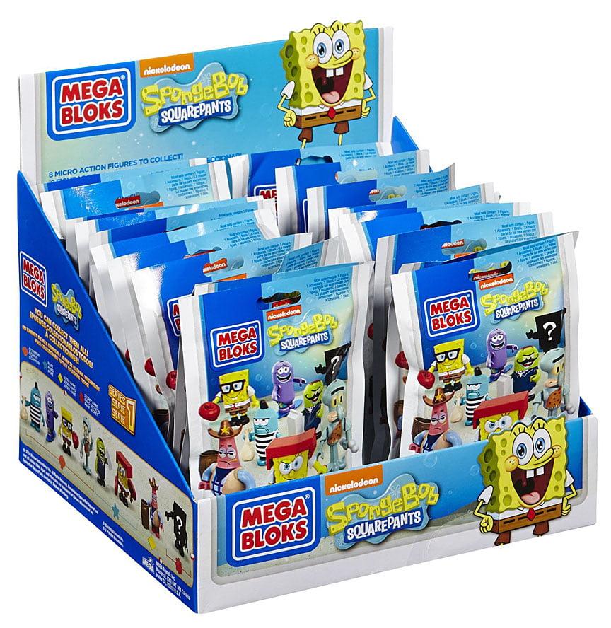 Mega Bloks Spongebob Squarepants Series 1 Mystery Box by