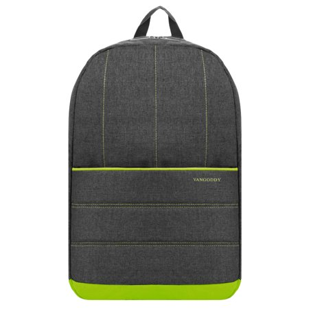 VANGODDY Grove Padded Nylon School Hiking Office Laptop Backpack fits 13.3, 14, 15.6, 15- inch Notebook Laptops