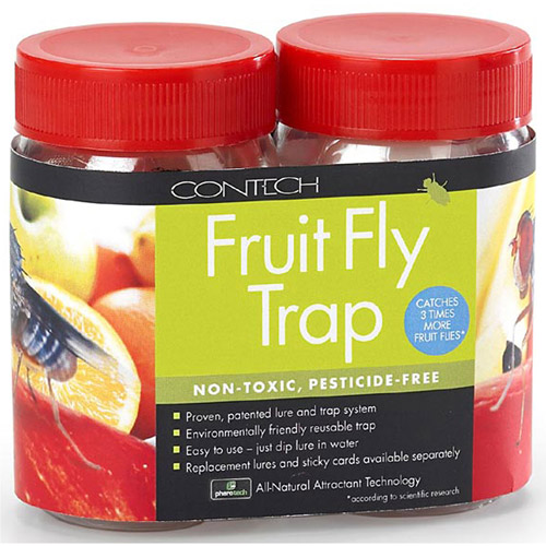 Contech 300000163 2 Pack Fruit Fly Trap