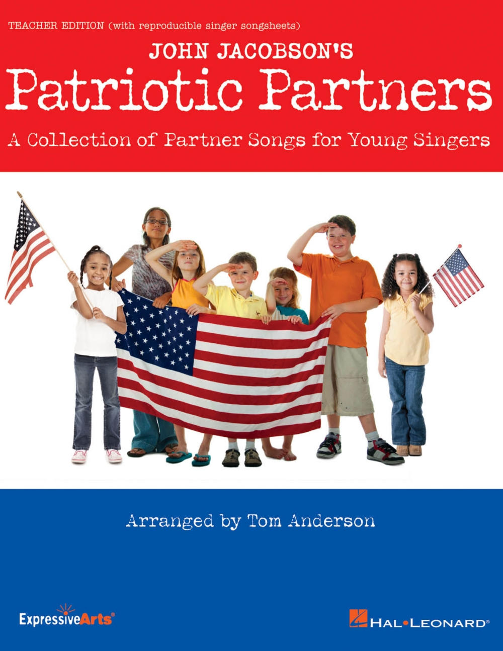 Hal Leonard Patriotic Partners (A Collection of Partner Songs for Young Singers) CLASSRM... by Hal Leonard
