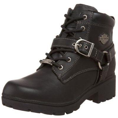 Harley-Davidson Women's Tegan Ankle Boot ,Black,10 M US](Harley Flame Boots)