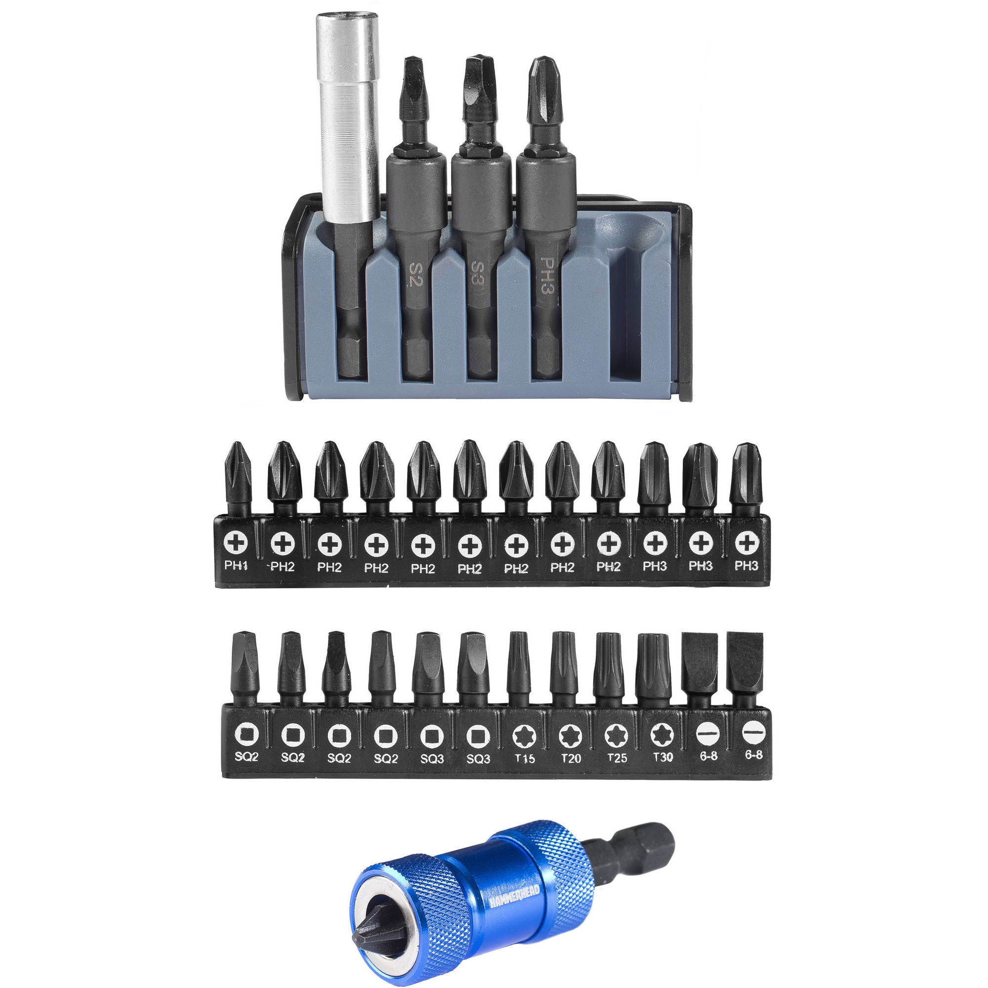 Hammerhead 30pc Impact Bit Kit