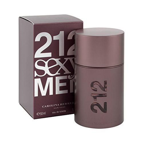 Carolina Herrera Beauty Gift 212 Sexy Cologne 1.7 oz Eau ...