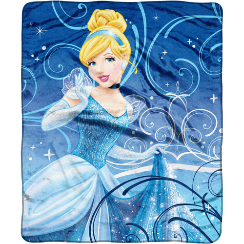 "Cinderella Silk Touch 50"" x 60"" Throw"