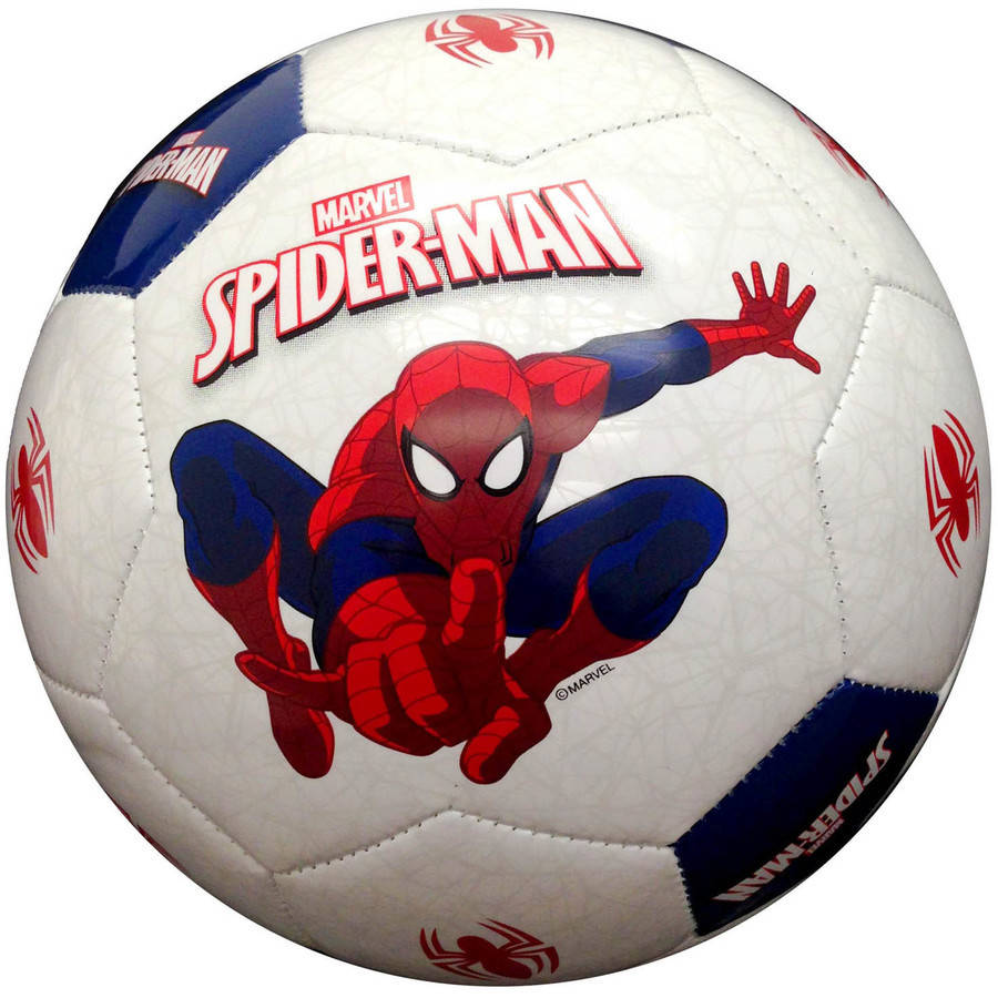 Spider-Man Soccer Ball, Size 3
